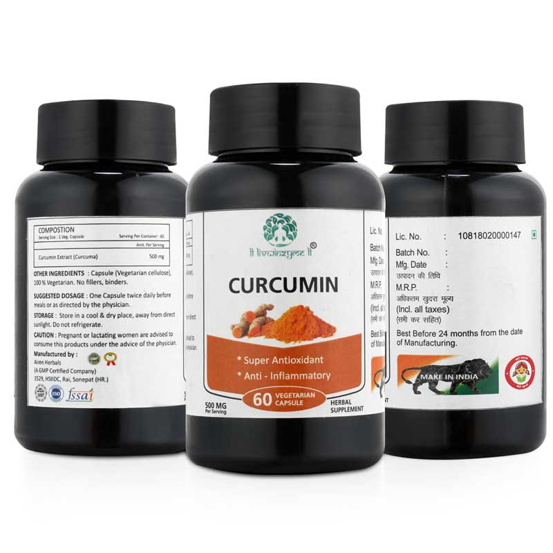Curcumin Capsule 60 %