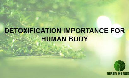 DETOXIFICATION IMPORTANCE FOR HUMAN BODY